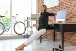 chair dips at your desk